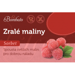 BOMBATO Zralé maliny 3,5l