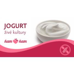 Jogurt (živé kultury) 2,5l