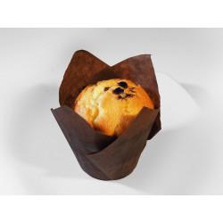 Muffin světlý s čokoládou